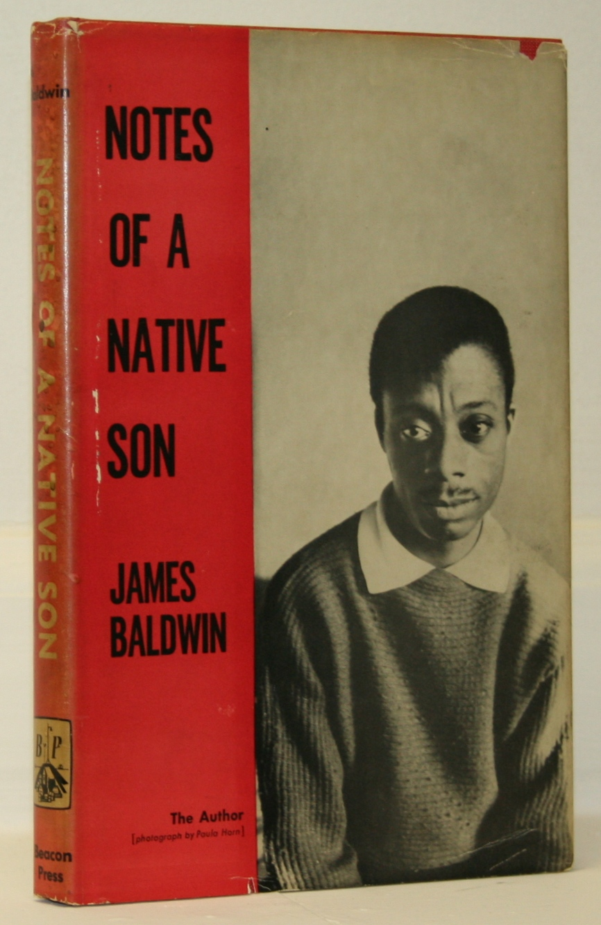 notes of a native son signed james baldwin first edition notes