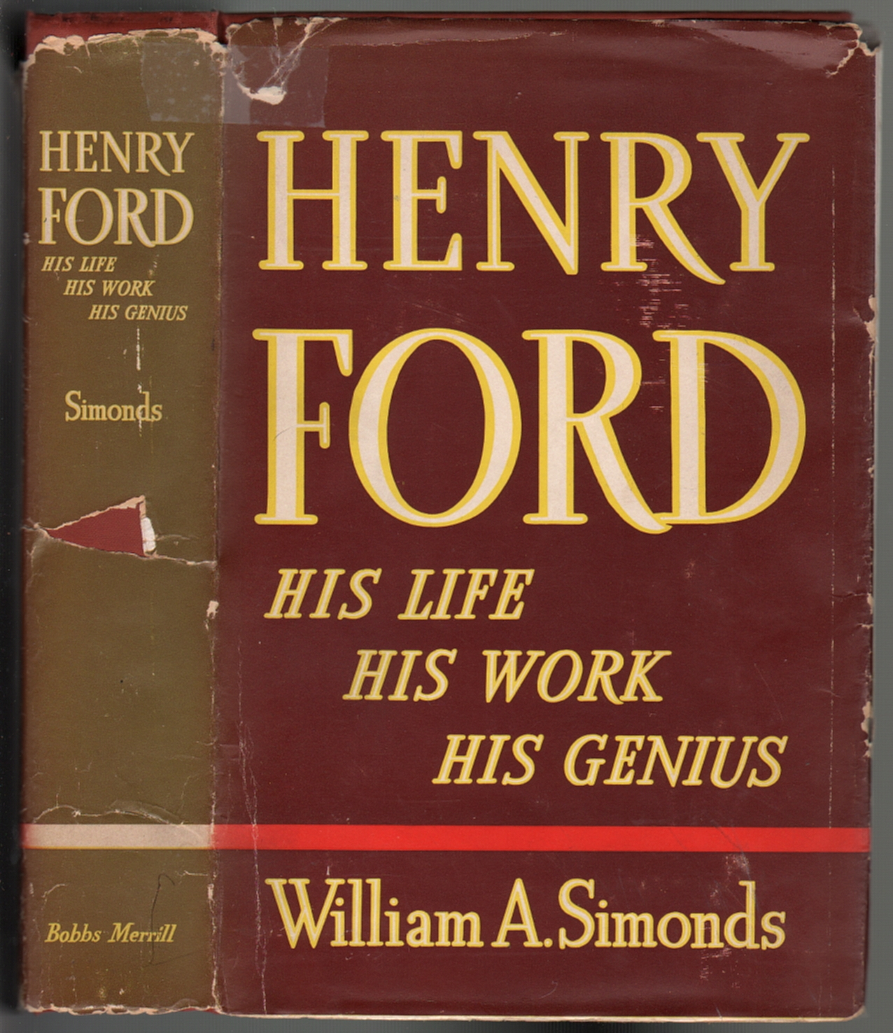 Henry Ford His Life His Work His Genius William A border=