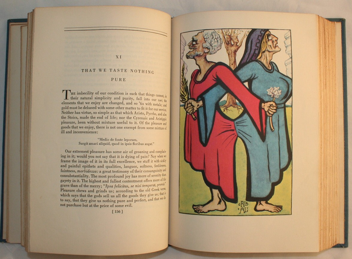essays of michel de montaigne illustrated by salvador dali 1947 Essays of michel de montaigne illustrated by salvador dali 1947 $3500 or best offer  vintage the complete essays of montaigne michel eyquem de book pb paperback 1965 4 product ratings [object object] $895 trending at $983 trending price is based on prices over last 90  essays of michel de montaigneillustrated by salvador dali.