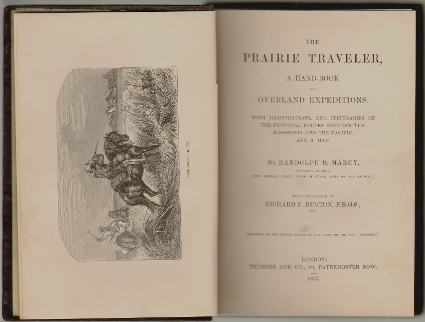 The Prairie Traveler, A Hand-Book for Overland Expeditions