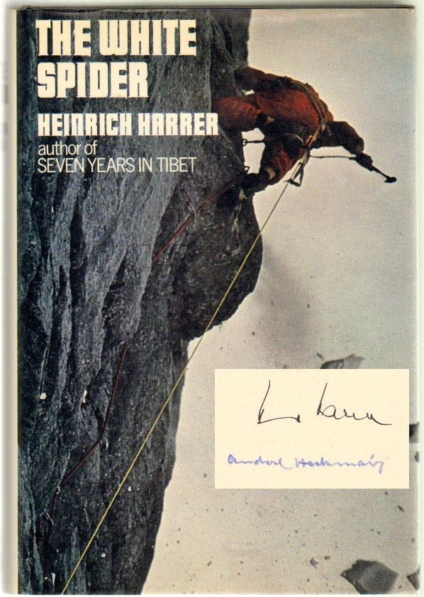 The White Spider, The Story of the North Face of the Eiger [SIGNED]. Heinrich Harrer.