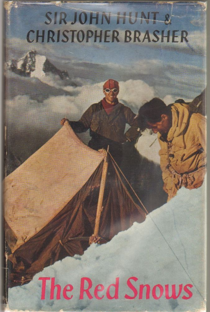The Red Snows, An Account of the British Caucasus Expedition 1958. Sir John Hunt, Christopher Brasher.
