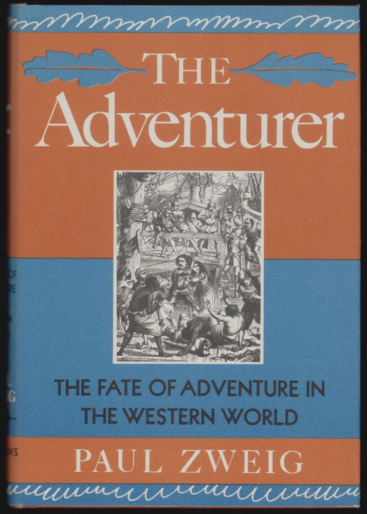 The Adventurer. Paul Zweig.