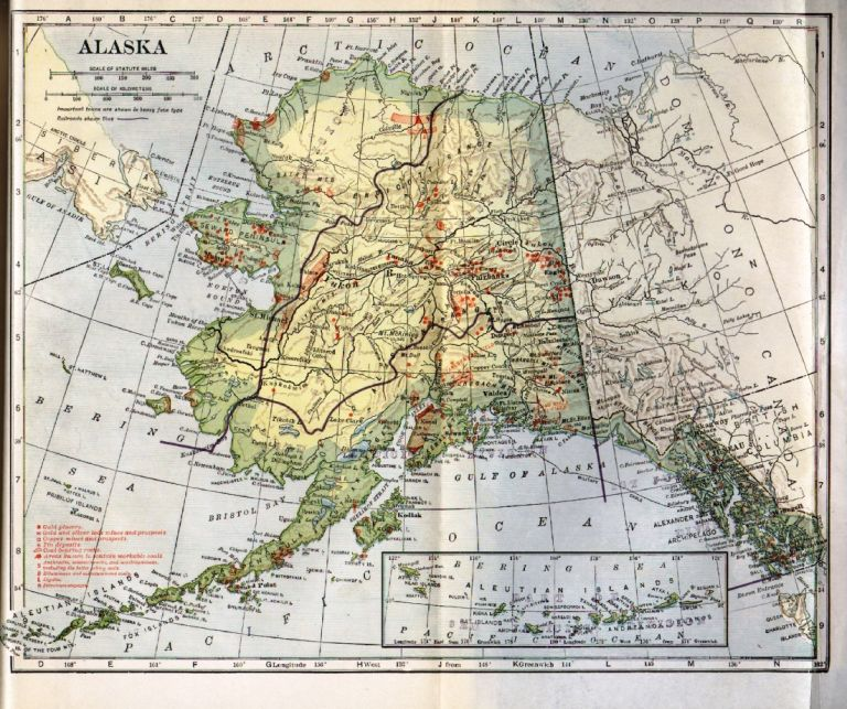 Alaska: A History of Its Administration, Exploitation, and Industrialization During Its First Half Century Under the Rule of the United States. Jeanette Paddock Nichols.