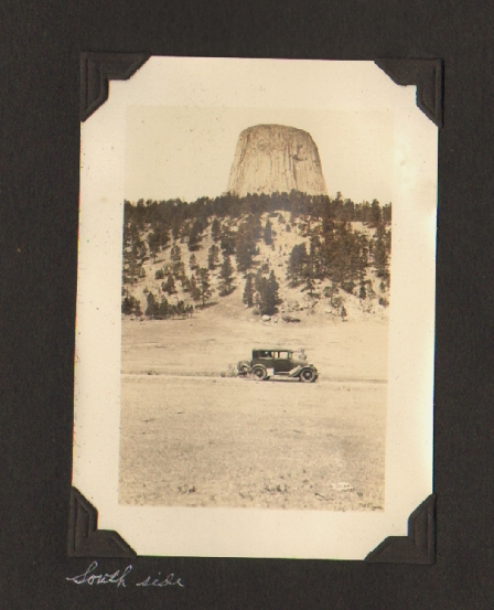 Photo Album Documenting a Trip Through South Dakota, Wyoming, Colorado, and Utah, 1931. PHOTO ALBUM, ROCKY MOUNTAIN GRAND TETON, YELLOWSTONE.