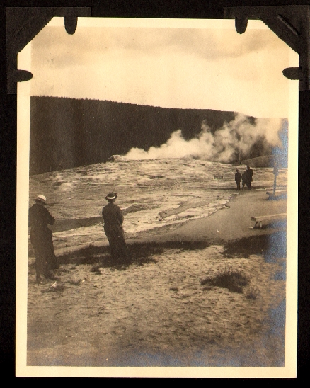 Photo Album of a Western Tour, 1915, by Members of the Maryland Commission to the Panama-Pacific Exposition. PHOTO ALBUM, YELLOWSTONE GRAND CANYON.