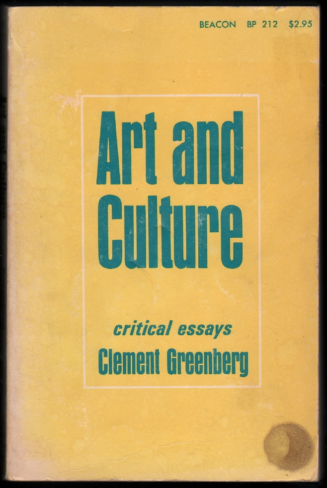 art culture critical essays Art and culture: critical essays brighter than you think: 10 short works by alan moore: with critical essays by marc sobel (critical cartoons.