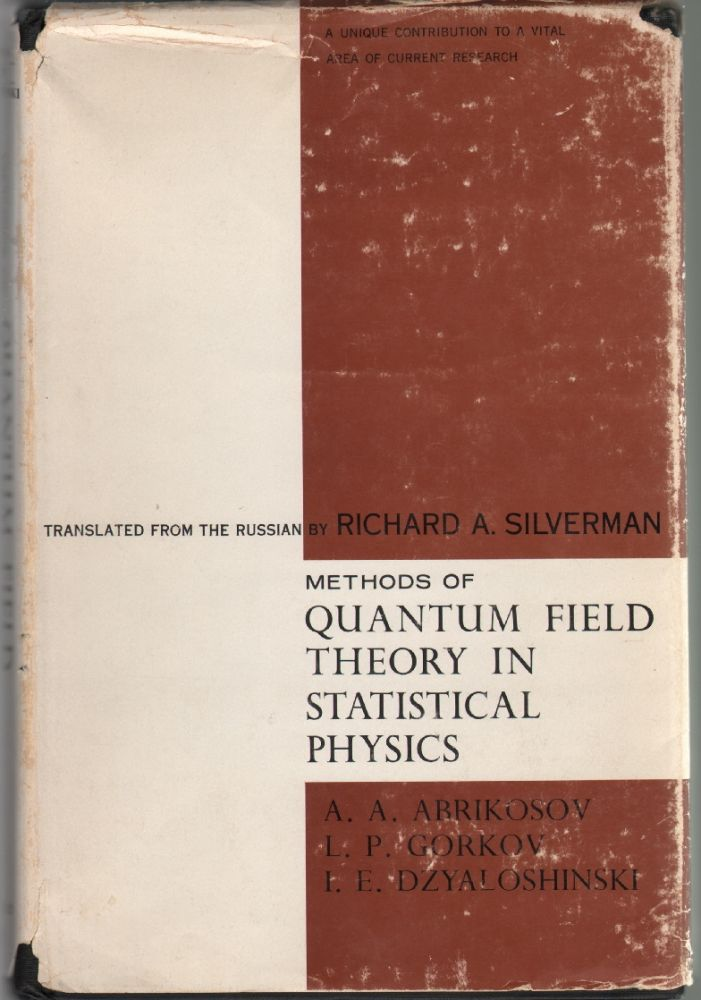 Methods of Quantum Field Theory in Statistical Physics | A  A