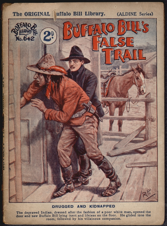 Buffalo Bill's False Trail (Buffalo Bill Library No. 642, Aldine Series)