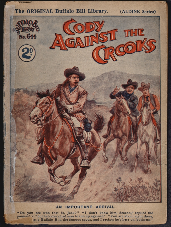 Cody Against the Crooks (Buffalo Bill Library No. 644, Aldine Series)