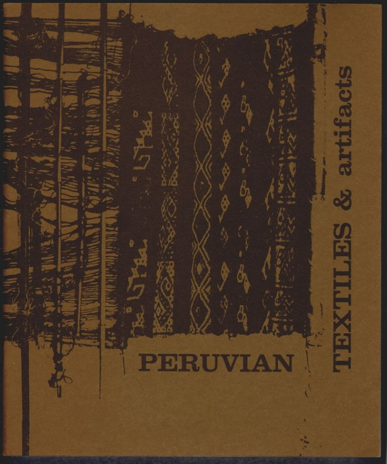Peruvian Textiles and Artifacts. Ina VanStan, Introduction.