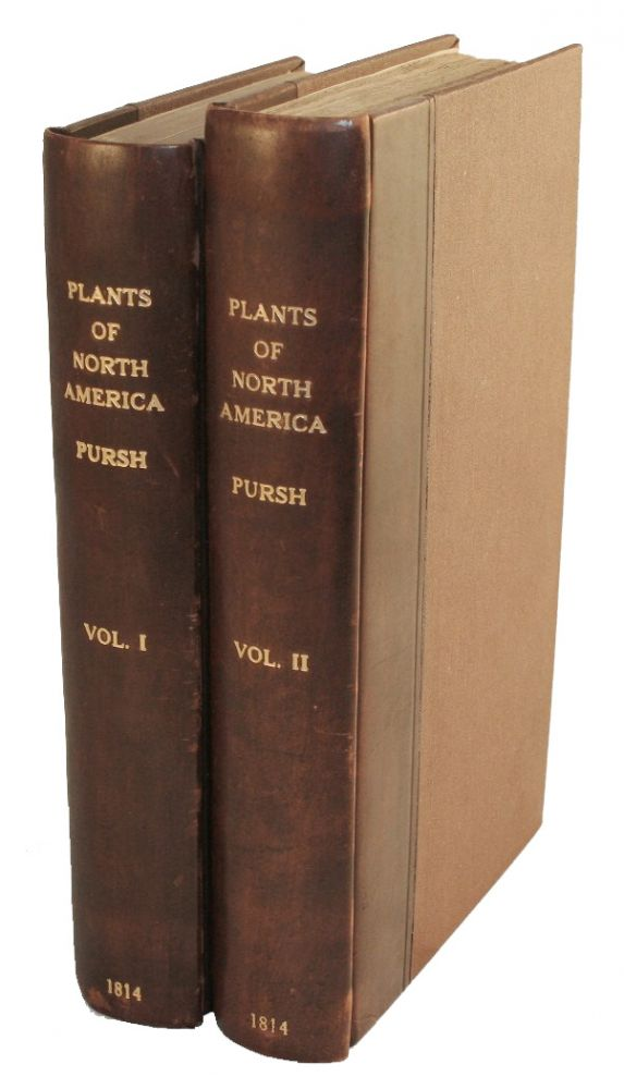 Flora Americae Septentrionalis; or a Systematic Arrangement and Description of the Plants of North America, Containing...Many New and Rare Species, Collected During Twelve Years Travels and Residence in that Country. NATURAL HISTORY, Frederick Pursh.