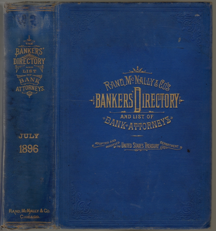 The Bankers' Directory and List of Bank Attorneys, July, 1896. COMMERCE.