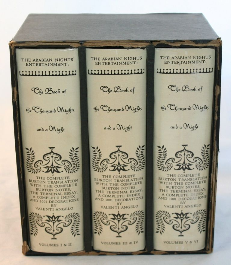 cuestionario Gran Barrera de Coral actualizar  The Book of a Thousand Nights and a Night A Plain and Literal Translation  of the Arabian Nights Entertainments Complete Set, Six Volumes in Three | Richard  F. Burton, Valenti Angelo