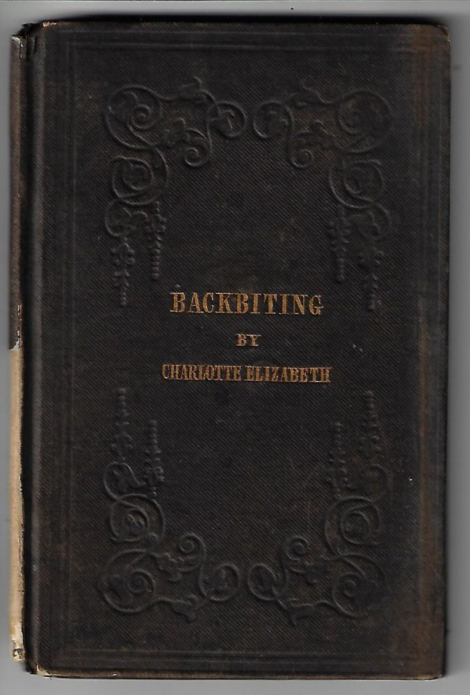 Backbiting. CIVILITY, Charlotte Elizabeth, Tonna.