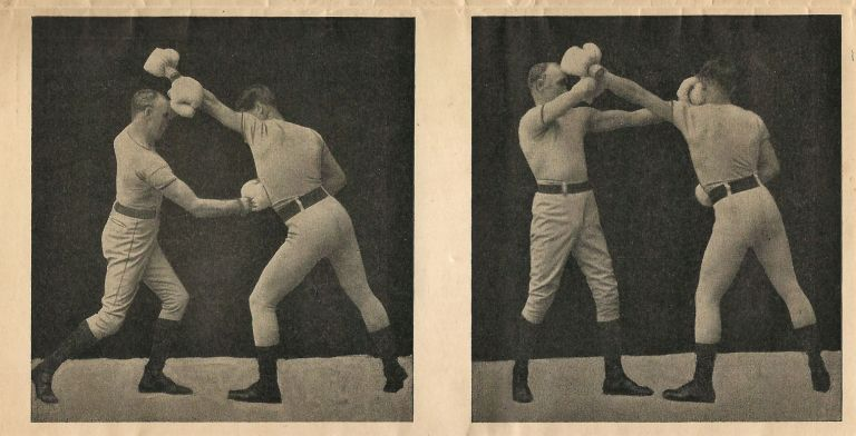 Mailer/Prospectus for the Marshall Stillman Method of Teaching Boxing and Self-Defense. BOXING CORRESPONDENCE COURSE.