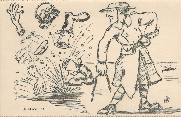 Do You Want to Know [How] the Yanks are Treating Germans? WORLD WAR I.