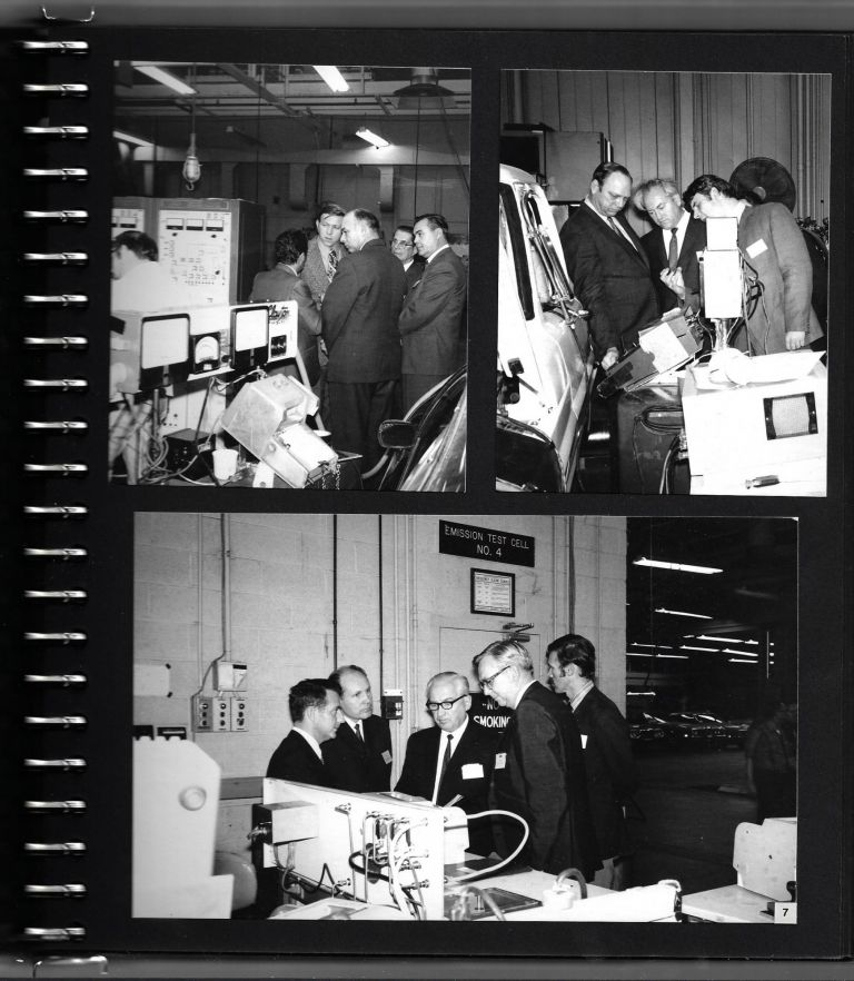 Small Archive Documenting the Ford-USSR Technical Exchange Forum of 1971. AUTOMOTIVE, COLD WAR.