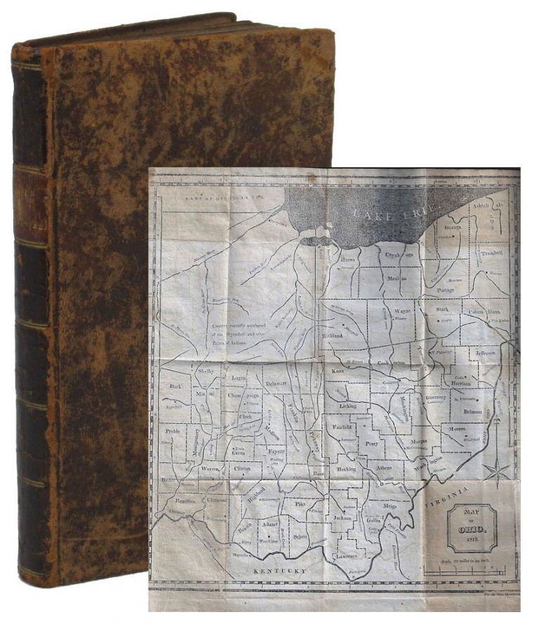 The Ohio Gazetteer; or Topographical Dictionary, Describing the Several Counties, Towns, Villages, Settlements, Roads, Rivers, Lakes, Springs, Mines, &c., in the State of Ohio; Alphabetically Arranged. OHIO, John Kilbourn.