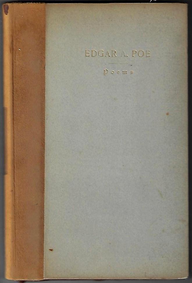 Poems. Edgar Allan Poe, MIchael Monahan, Foreword.