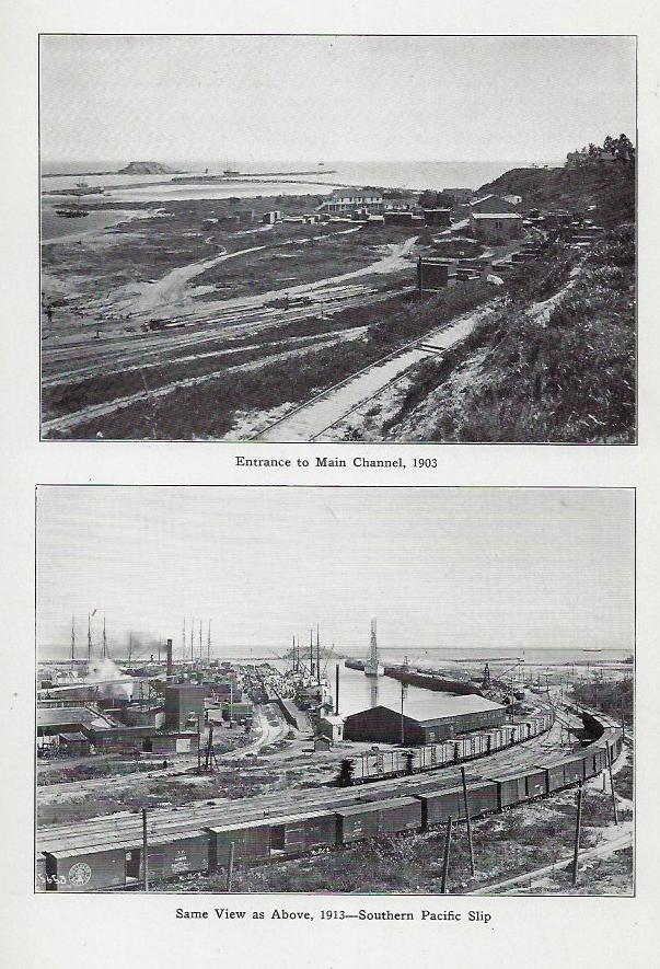 The Port of Los Angeles, Its History, Development, Tributary Territory, Present and Prospective Commerce, and Relation to the Panama Canal; Annual Report of the Board of Harbor Commissioners; Port Statistics; and Laws, Ordinances, and Rules Governing the Harbor. LOS ANGELES.