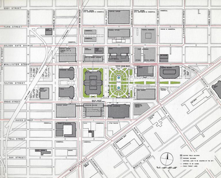 San Francisco Civic Center Development Plan. PLANNING SAN FRANCISCO.