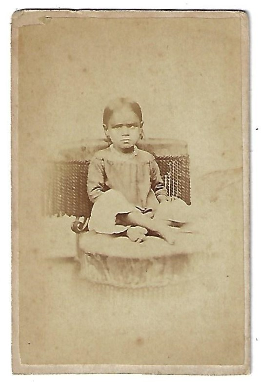 CDV Photograph of Frances Coryell. FOREIGN MISSIONS.