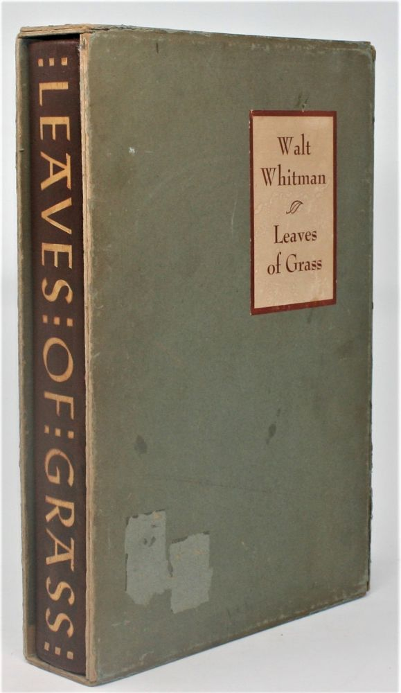 Leaves of Grass. Walt Whitman.