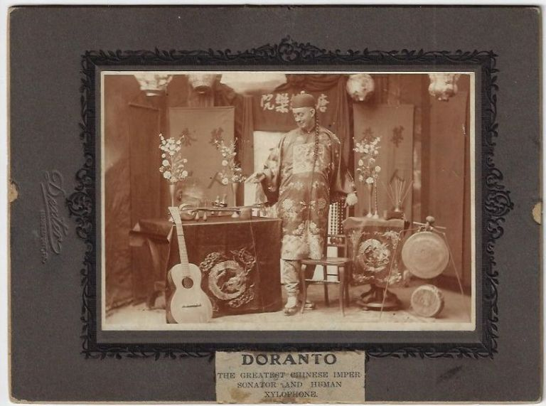 Doranto, The Greatest Chinese Impersonator and Human Xylophone
