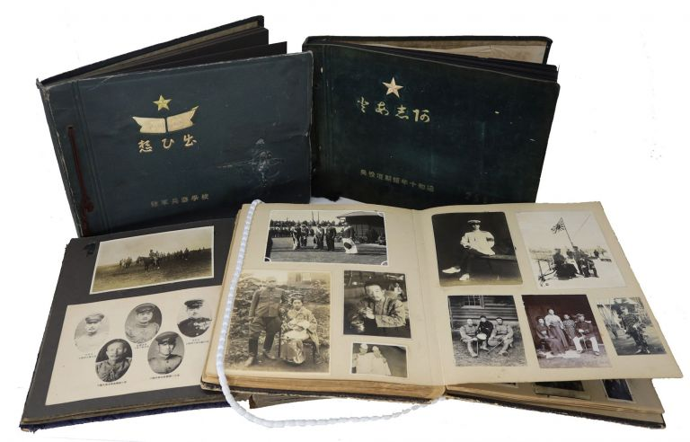 Four Photograph Albums Documenting Training and Service in the Imperial Japanese Army in the Interwar Years