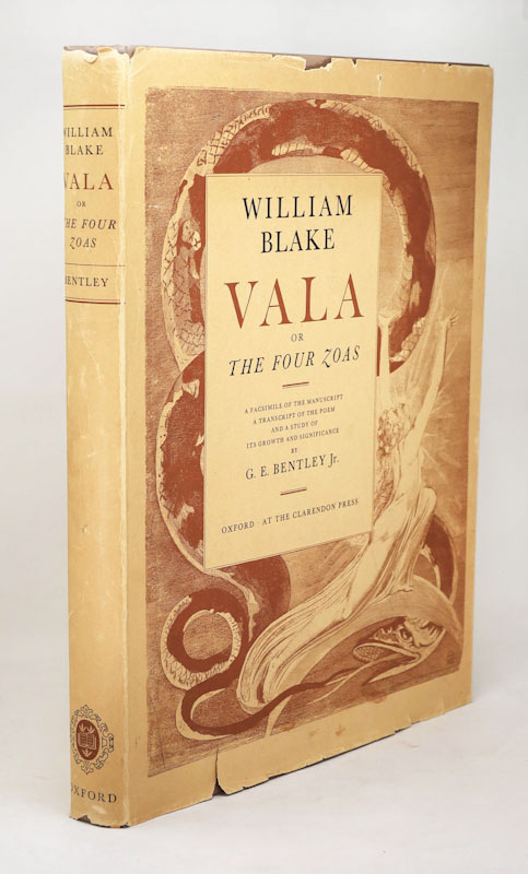 Vala, or the Four Zoas, A Facsimile of the Manuscript, A Transcript of the Poem, and a Study of its Growth and Significance by G.E. Bentley. William Blake, G. E. Bentley.