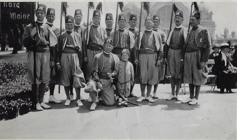 Shriners' Western Road Trip: Members of the Kora Shrine of Lewiston, Maine, Visit Glacier National Park, Seattle, San Francisco, San Diego, Salt Lake City in 1915. PHOTO ALBUM.