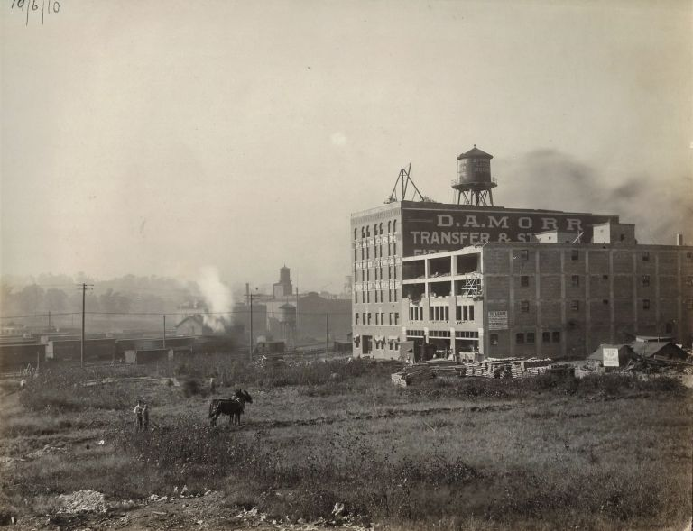 Photo Album Documenting Construction of the Nabisco Plant in Kansas City, Missouri, 1910-1911