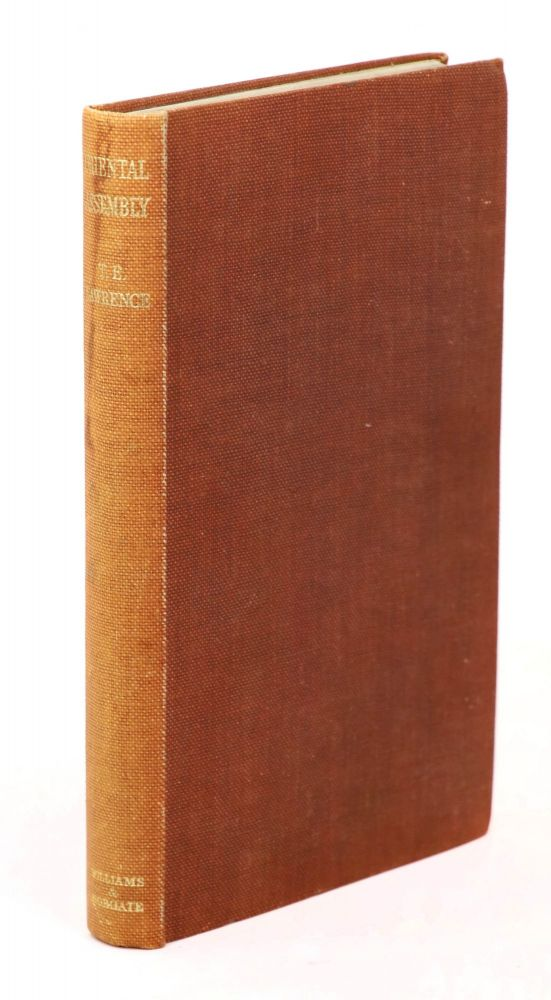 Oriental Assembly. T. E. Lawrence, A. W. Lawrence.