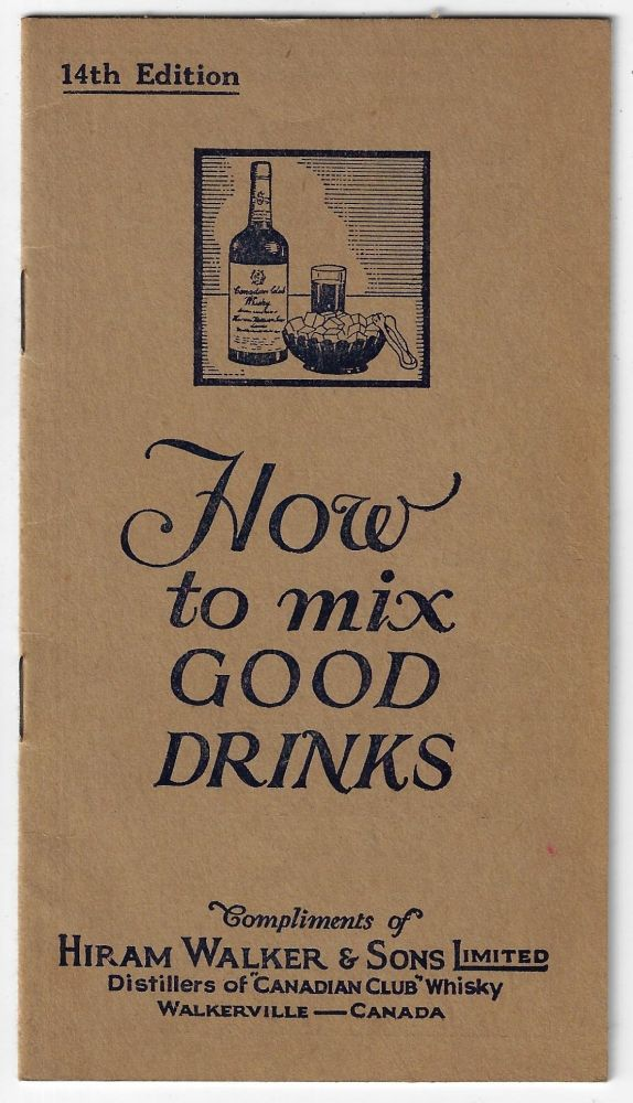 How to Mix Good Drinks