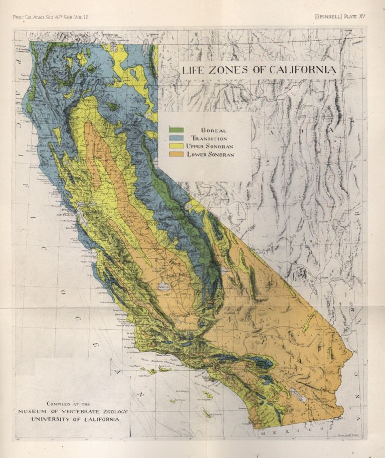 A Distributional List of the Mammals of California. Joseph Grinnell.