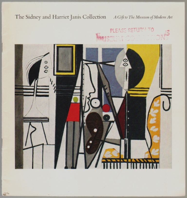 The Sidney and Harriet Janis Collection, A Gift to The Museum of Modern Art