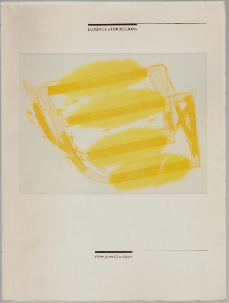 Luminous Impressions, Prints from Glass Plates