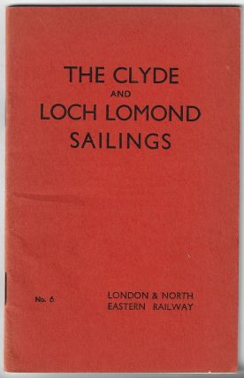 The Clyde and Loch Lomond Sailings