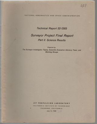 NASA/JPL Technical Repot 32-1265. Surveyor Project Final Report, Part II: Science Results
