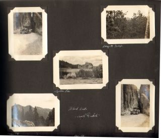 Photo Album Documenting a Trip Through South Dakota, Wyoming, Colorado, and Utah, 1931