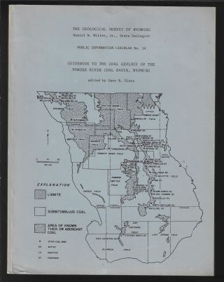 Guidebook to the Coal Geology of the Powder River Coal Basin, Wyoming (Geological Survey of...