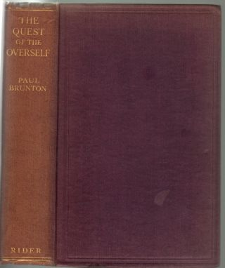 The Quest of the Overself. Paul Brunton
