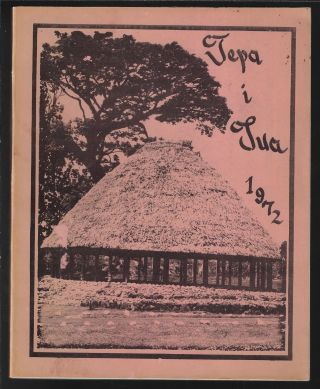 Tepa i Tua 1972. WESTERN SAMOA TEACHERS' TRAINING COLLEGE, Fiatala Petaia