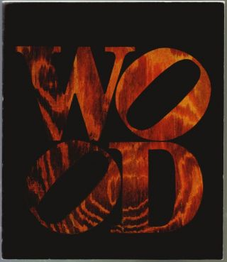 Robert Indiana, Wood