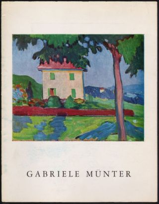 Gabriele Münter 1877 to 1962, Fifty Years of Her Art, Paintings: 1906-1956, March-April 1966