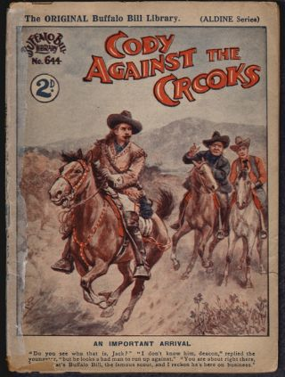 Cody Against the Crooks (Buffalo Bill Library No. 644, Aldine Series