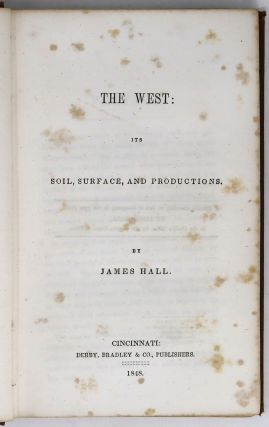 The West: Its Soil, Surface, and Productions