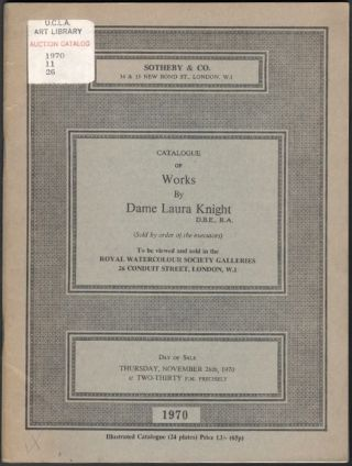 Catalogue of Works by Dame Laura Knight