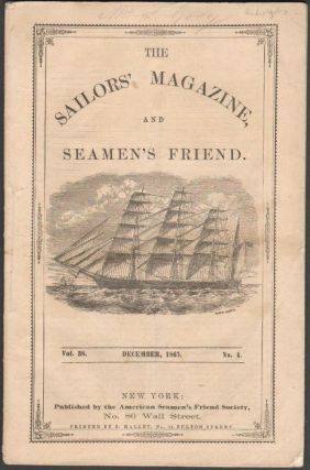 The Sailors' Magazine and Seamen's Friend, Vol. 38, No. 4, December, 1865